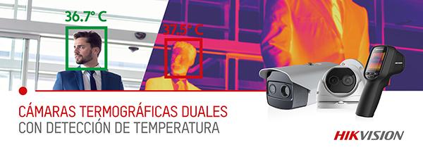 Cámaras termográficas fiebre