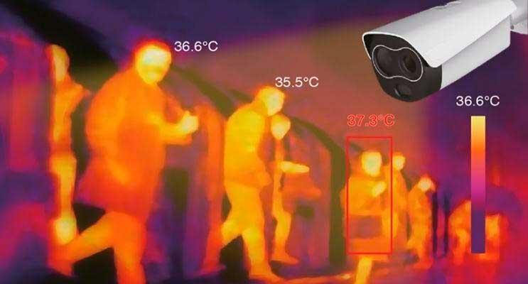 cámara termografica covid-19